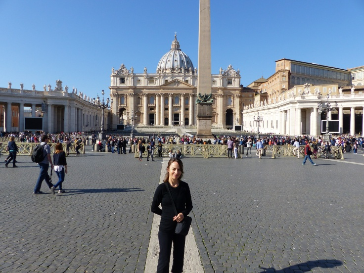 In St. Peter's Square