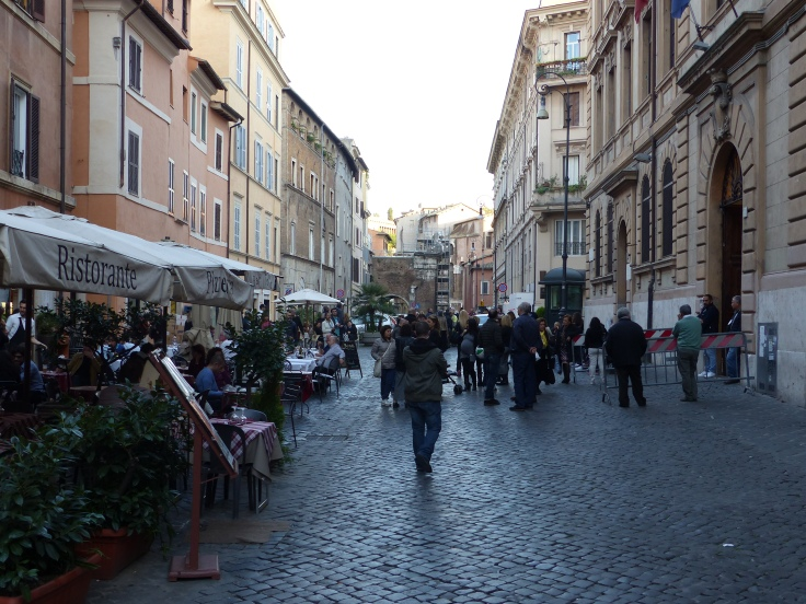 The Jewish Ghetto's main street