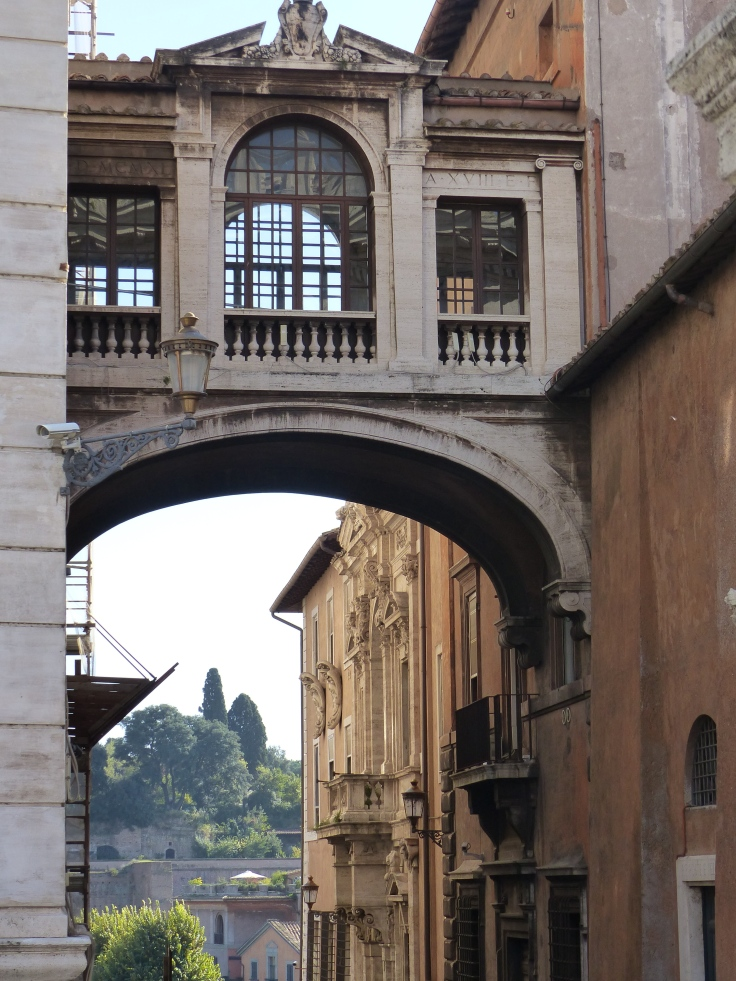 As we walked out of the piazza, the surrounding buildings and views continued to be eye-catching