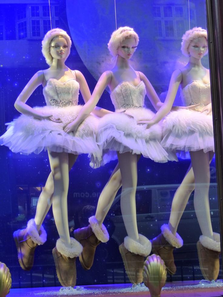 From bogans to ballerinas!