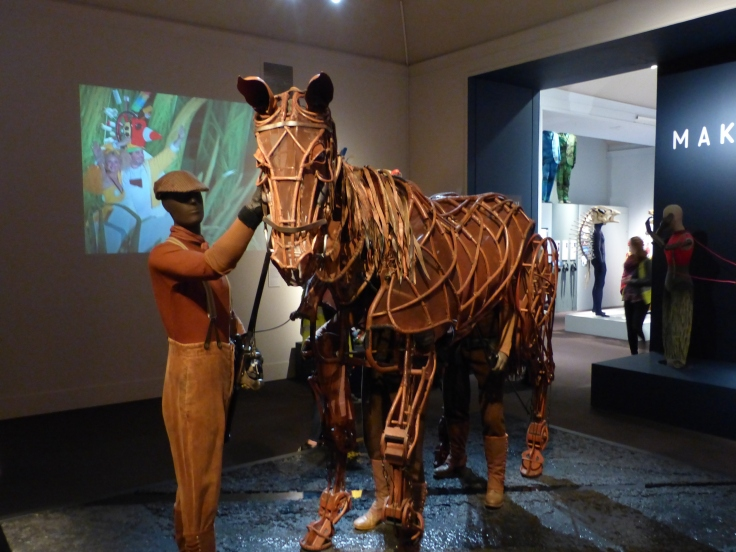 """The """"Joey"""" puppet from the play """"War Horse"""". We saw that in New York on Broadway and it's one of my all time favourite productions."""