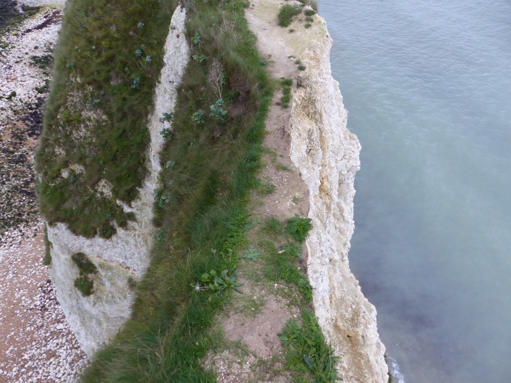 Would you like to walk the tight-rope of this cliff edge? Don't look down!