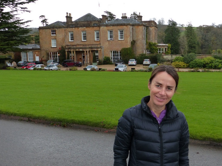 """Thrilled to be at """"The Manor""""!"""