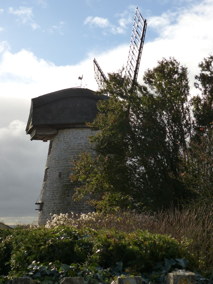 England's last remaining thatched windmill