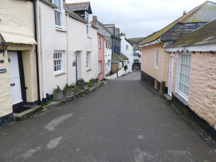 Strolling through the village