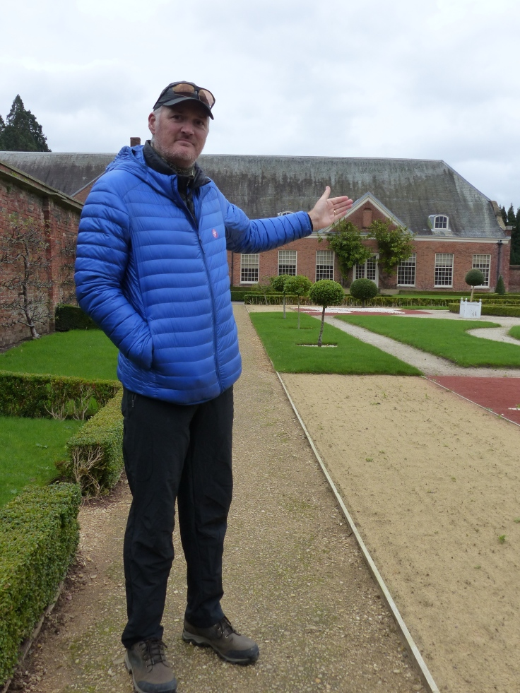Steve's getting quite a collection of stately homes!