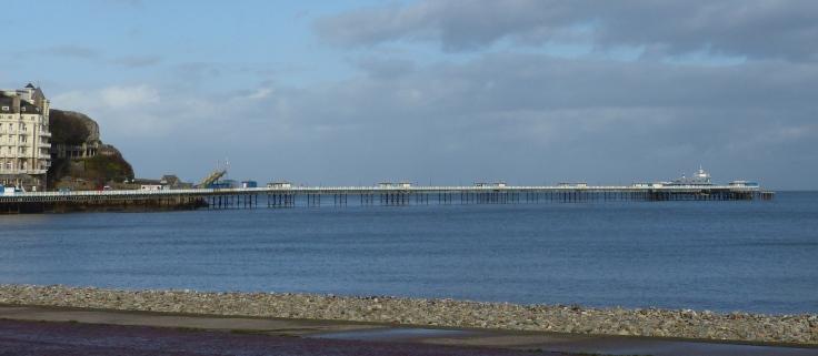 The longest pier in Wales