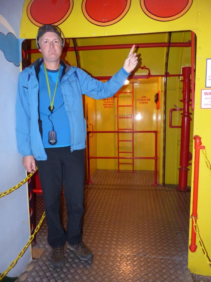 Boarding the Yellow Submarine