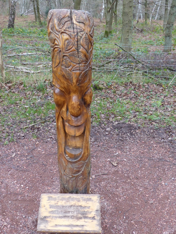 """The Laughing Tree. """"Protector of the forest and bringer of laughter and joy to the Green Wood."""""""