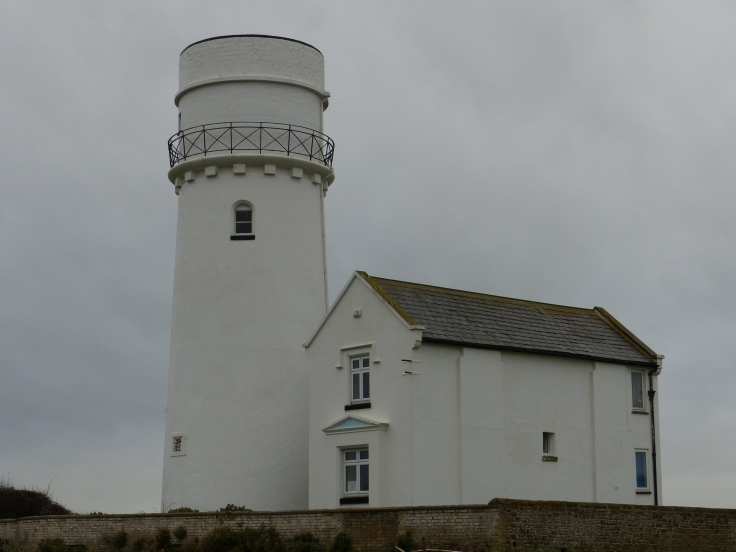Hunstanton Lighthouse (1665 - 1921). This lighthouse had the world's first parabolic reflector in 1776.