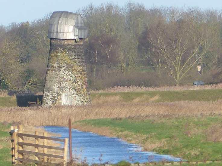 Some of the old windmills looked a bit sad