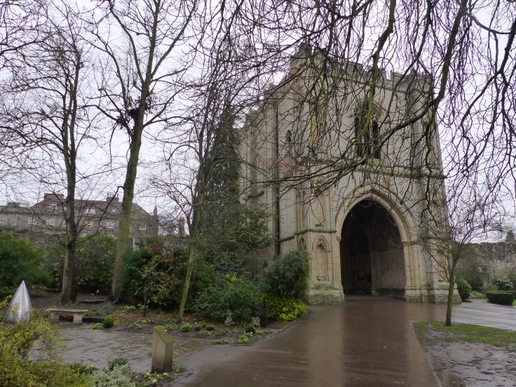 The Great Gate, which originally gave access to the Great Court