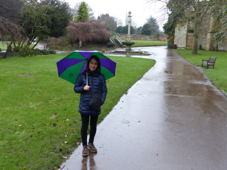 Rain schmain! We're used to it!