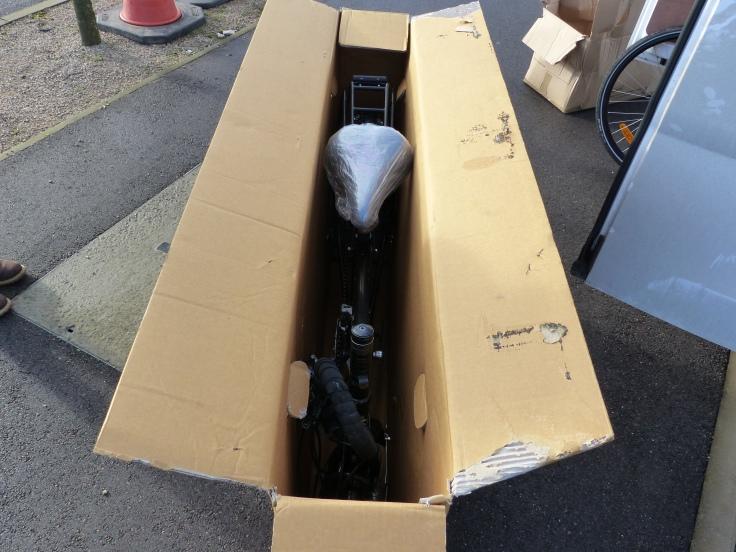 No more free wheelin', just a cramped box