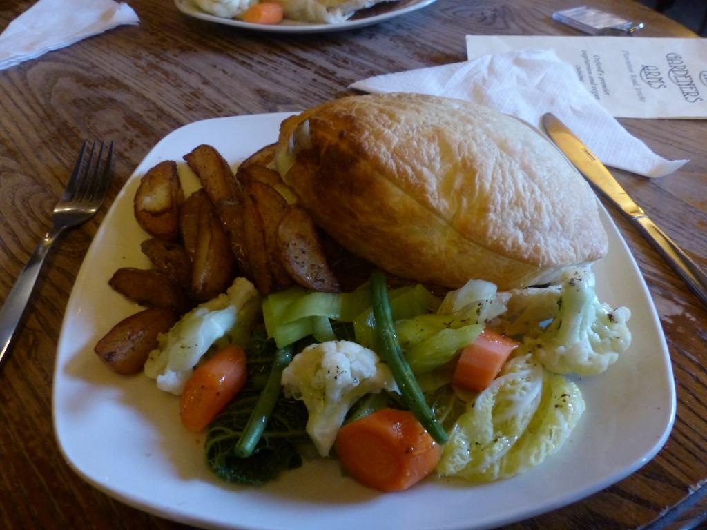 A fine final Sunday pub lunch