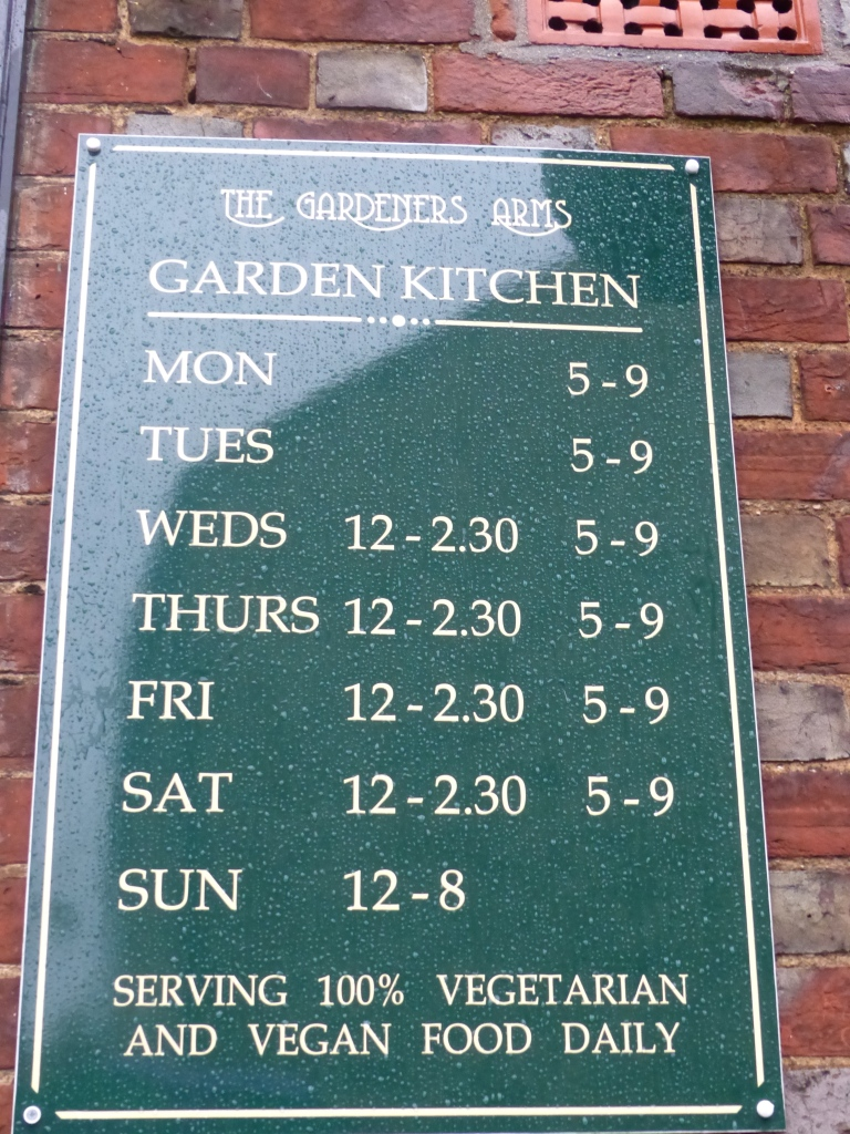"""You don't often see the """"V words"""" on a pub sign!"""