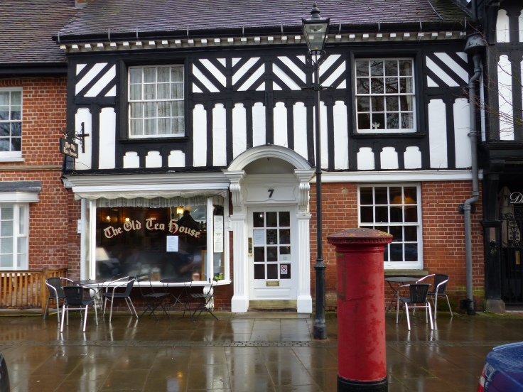 Our tea room and that of Inspector Barnaby!