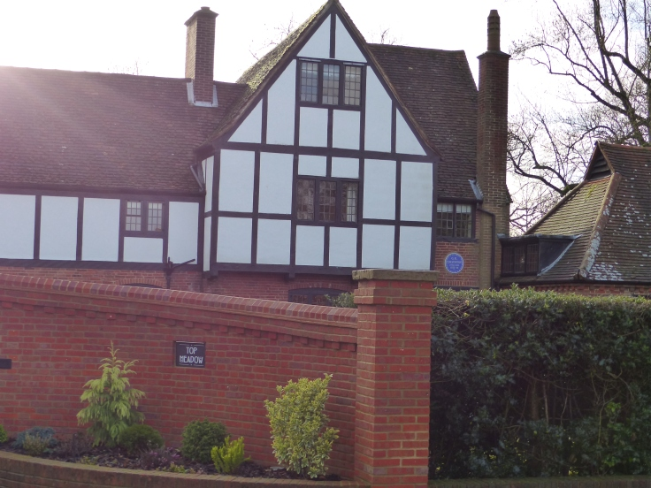 """""""Overroads"""" was the home of G.K. Chesterton"""